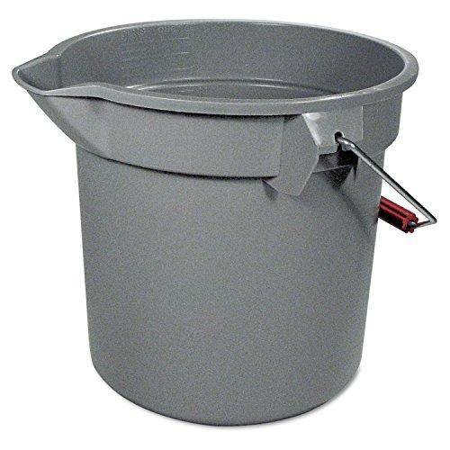 Plastic 14 Quart Round Bucket - 9
