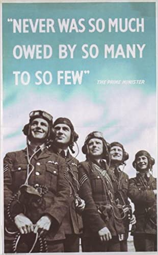 Battle Of Britain The Few Poster A3 Reprint: Amazon co uk