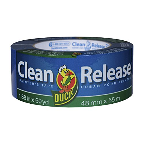 Duck Clean Release Blue Painter's Tape 2-Inch (1.88-Inch x 60-Yard), 12 Rolls, 720 Total Yards, 284372 by Duck (Image #2)