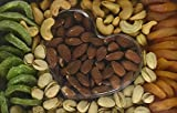#6: Heart Shape Gourmet Gift Basket For Your Loved Ones - Dried Fruit And Nuts - Kiwi Apricot Almonds Pistachio Cashews