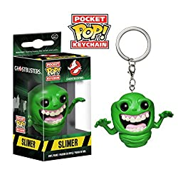Funko POP Keychain: Ghostbusters Action Figure, Slimer