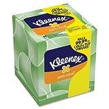 Wholesale CASE of 25 - Kimberly-Clark Kleenex Anti-Viral Facial Tissue-Facial Tissue, Anti-Viral, Upright, 68SH/BX, White