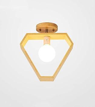 SMC Lámpara de techo Estilo nórdico japonés Lámpara de ...