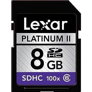 Amazon.com: Lexar Platinum II 200x 32GB SDHC UHS-I Flash ...