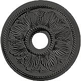 Ekena Millwork CM18ED1SGS Edinburgh Ceiling Medallion, Steel Gray