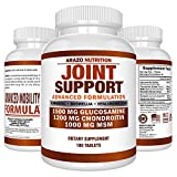 Joint Support Supplement | MSM 1000mg | Glucosamine 1500mg | Chondroitin 1200mg |Turmeric