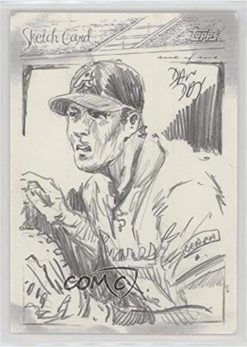 (Dan Day; Joe Mauer #1/1 (Baseball Card) 2006 Topps - Sketch Cards #DADA)