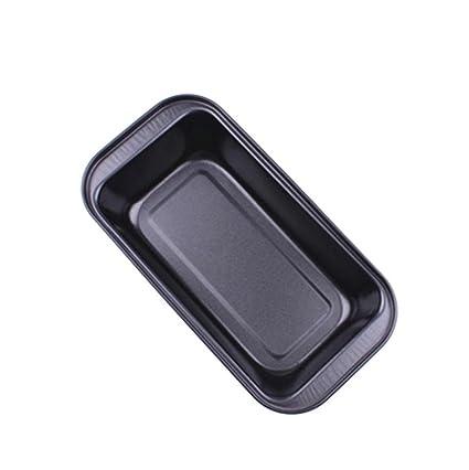 Gessppo Molde de pastel No-Stick Cake Bread Mold Bakeware Carbon Steel Toast Bread Pan