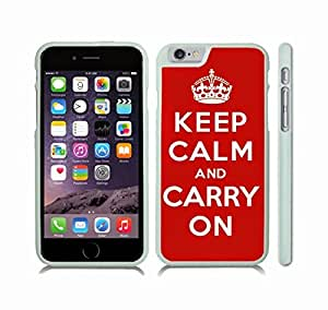"""iStar Cases? iPhone 6 Case with """"You can't stop us all"""" Anti RIAA and MPAA Design, Red and White Font on Grey , Snap-on Cover, Hard Carrying Case (White)"""