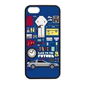 Fashion Hard Protective Gel Rubber Coated Case Cover for iPhone 5 5S Phone Cases - BTTF Back to the Future
