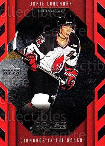 (CI) Jamie Lundmark Hockey Card 1999-00 Black Diamond Cut 92 Jamie Lundmark