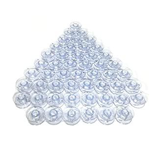 Cutex (TM) Brand 50 Plastic Bobbins #X52800120, X52800150 For Babylock, Brother Sewing Machines