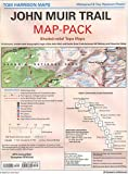 John Muir Trail Map-Pack: Shaded Relief Topo Maps