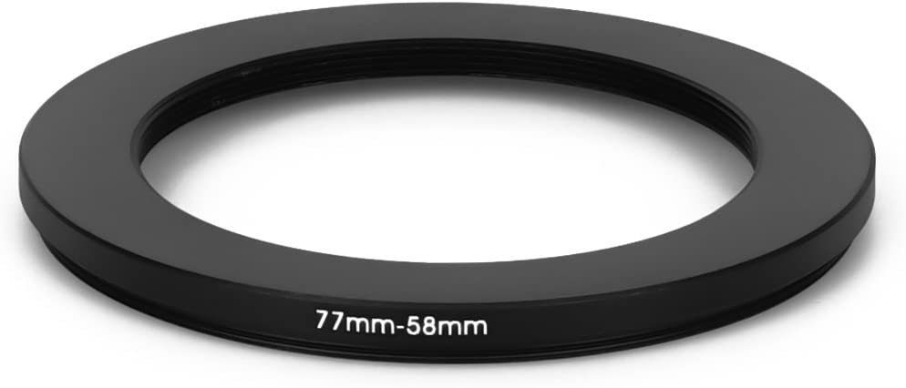 77 mm 58 mm Filter Adapter Step-Down Adapter Filteradapter Step Down 77-58