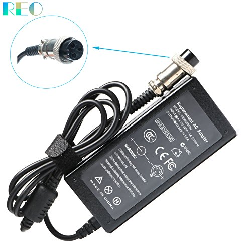 (24V 1.5A Electric Scooter Battery Charger for Razor E100 E300 E200 MX350 MX400 ZR350 E300S E200S E175 E150 E125 E500 E225S E325S E225 PR200;Mini Chopper;Pocket Rocket;Dirt Quad Bike;Pocket Mod Cable)