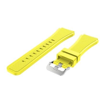 Zolimx Deporte Suave Silicona Accesorio Reloj Banda Wirstband Para Xiaomi Huami Amazfit Stratos 2/2S