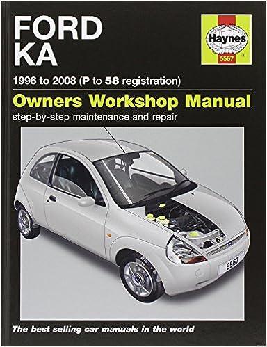 Ford Ka Service And Repair Manual   Haynes Service And Repair Manuals Amazon Co Uk A K Legg M R Storey  Books