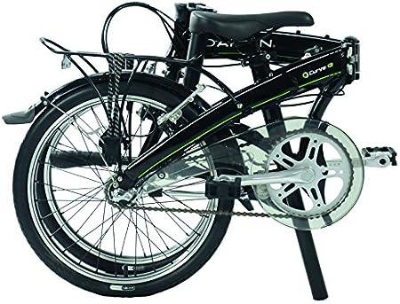 Dahon Curve i3 Bicicleta Plegable Mixta, Color Obsidian Noir ...