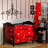 GEORGIA Bulldogs Baby Crib Set - 5 Pc set