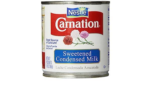 Amazon.com : Nestle Carnation Sweetened Condensed Milk 14 oz (Pack ...