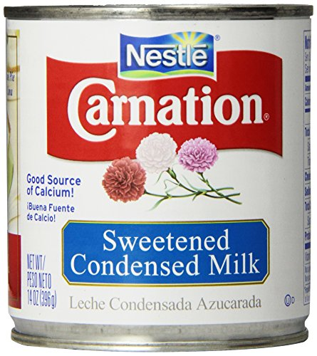 Nestle Carnation Sweetened Condensed Milk 14 oz (Pack of 24) by Carnation
