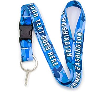 Amazon com: Custom Lanyards No Minimum Order Required