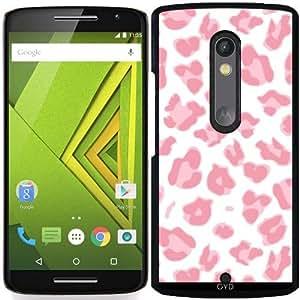 Funda para Motorola Moto X Play - El Estampado De Animales Rosado 02 by Aloke Design