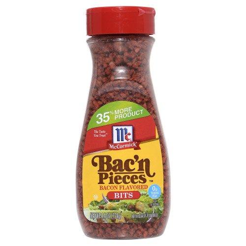 MCCORMICK BAC'N BACON PIECES FOOD SALAD TOPPING 4.4 OZ