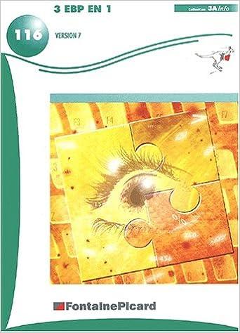 Livres gratuits en ligne 3 EBP en 1 Version 7 pdf
