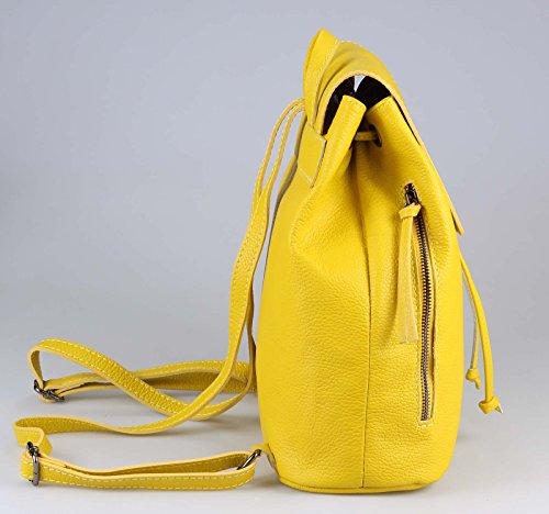 couture Cm bxhxt Verde Mujer Bolso beautiful Mochila Obc Petróleo Only Ca Para 35x30x12 Amarillo HnqFaSfx