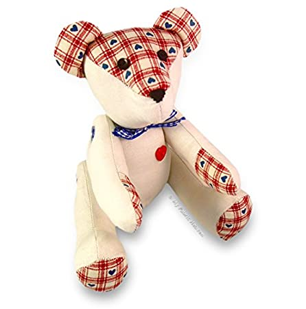 Soft Toy Sewing PATTERN Independent Design. 9 Inch Fabric Teddy Bear ...
