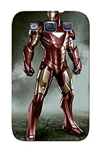 Tough Galaxy RFhATOh4879ihDjr Case Cover/ Case For Galaxy S3(download Free Cartoon Iron Man I4 With Ize )