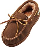 NORTY - Toddler Boys Suede Moccasin Slipper, Chestnut 40103-6MUSToddler