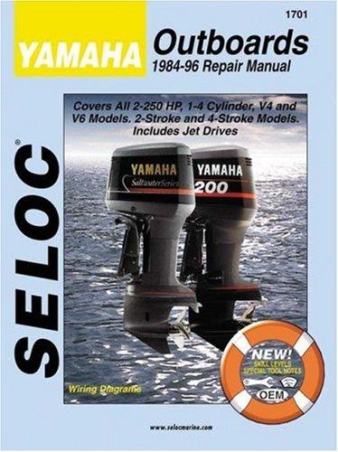 - Yamaha Outboards 1984-1996 2 & 4 Stroke (Seloc)