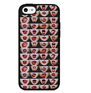 Red Lipstick and Smoke Hard Snap on Phone Case (iPhone 6 4.7)