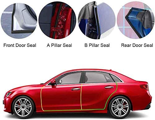 Hamkaw Tesla Model 3 Door Seal Kit Tesla Model 3 Accessories