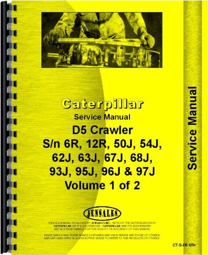 caterpillar d5 crawler service manual caterpillar manuals rh amazon com Cat D2 Dozer Cat D1 Dozer