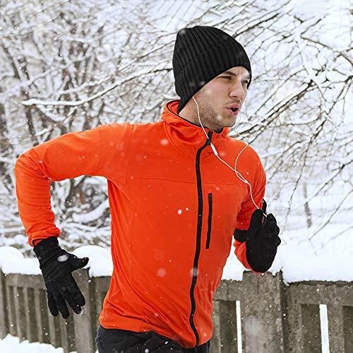 OZERO Winter Daily Beanie Stocking Hat  Warm Polar Fleece Skull Cap for Men and Women