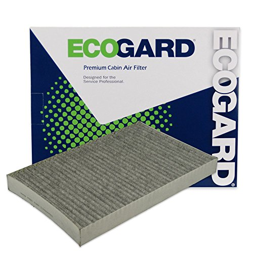 ECOGARD XC35494C Cabin Air Filter with Activated Carbon Odor Eliminator - Premium Replacement Fits Dodge Grand Caravan/Chrysler Town & Country/Dodge Caravan/Chrysler Pacifica, Voyager Chrysler Voyager Interior