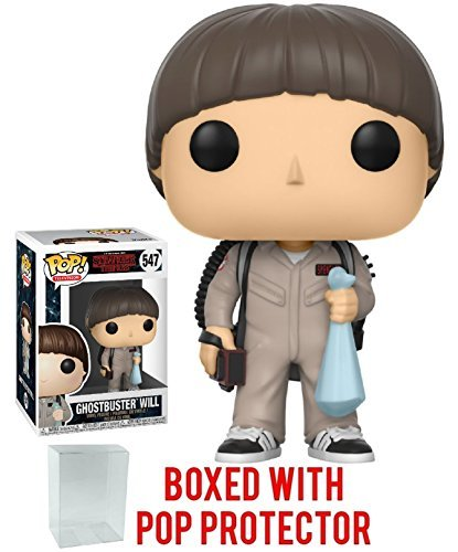 Funko Pop Television: Stranger Things - Will Ghostbusters Collectible Vinyl -
