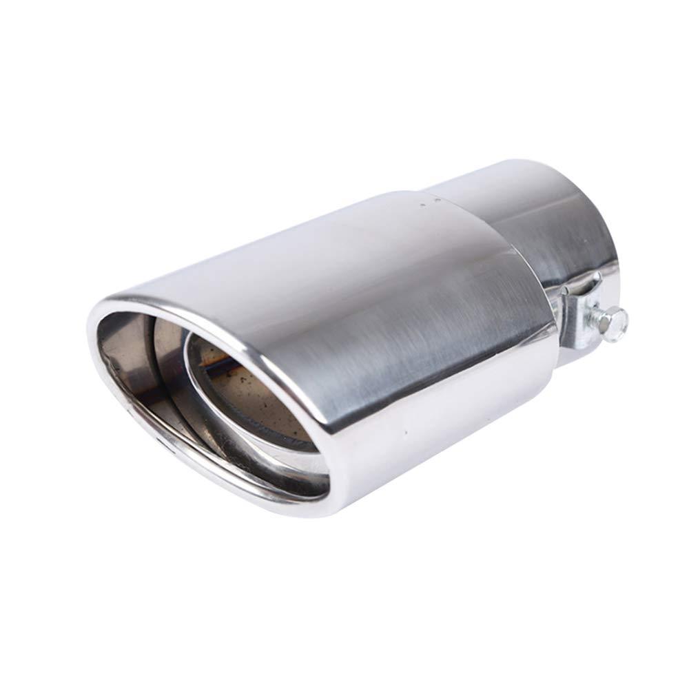 marmitta posteriore Tubo di scarico universale in acciaio inox per auto