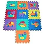 TLCmat� Soft Foam Play Mat Puzzle wit...