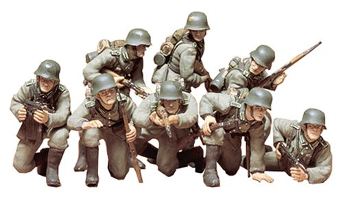 Tamiya 1/35 German Panzer Grenadiers for sale  Delivered anywhere in USA