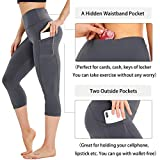 HIGHDAYS Capri Yoga Pants for Women High Waist
