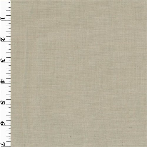 Beige Wool Gabardine Suiting, Fabric by The Yard for sale  Delivered anywhere in USA