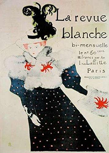 La Revue Blanche Poster Print by Henri Toulouse-Lautrec (10 x 14)