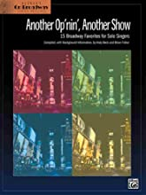 Another Op'nin, Another Show (15 Broadway Favorites for Solo Singers) (Paperback)