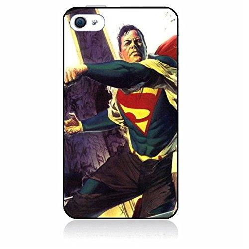 """Coque personnalisée Iphone 6 (4.7"""") SUPERMAN COMICS/SUPER HEROS 50142 en caoutchouc silicone rigide et incassable Etui-Housse-produit original- Livraison en 48H de FRANCE - Handy Schutz Hülle - Hard c"""