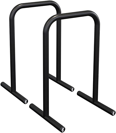Parallel Dip Station Bars Home Gym Parallettes Workout Crossfit Calisthenics Set