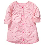 Carter's Baby Girls' Woven L/S Tunic - Pink Dot - 18 Months